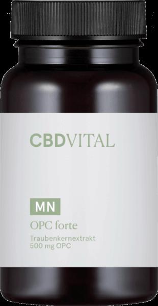 CBD-Vital OPC FORTE Traubenkernextrakt (60 Kapseln)