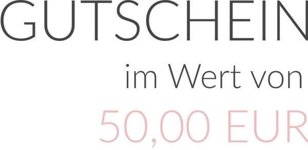 GUTSCHEIN im Wert von 50,00 EUR als PDF