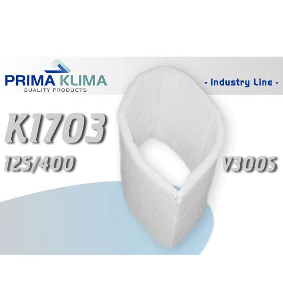 Prima Klima Vorfilter, 125mm, 400mm