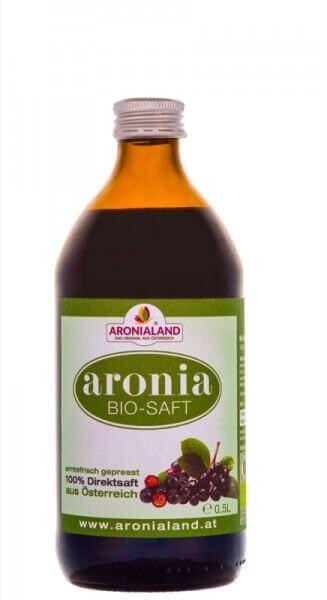 Bio Aronia Direktsaft - 500ml