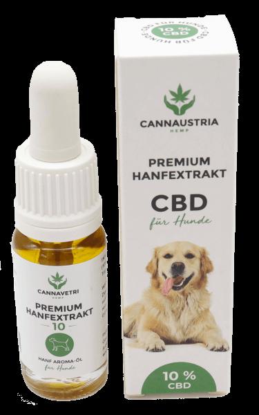 CannAustria Premium Hanfextrakt für Hunde 10 %