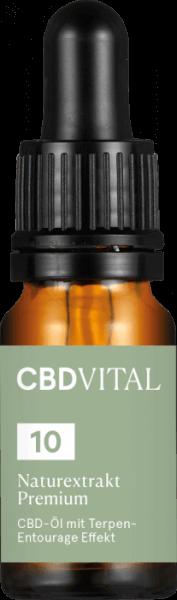CBD-Vital CBD-Öl Naturextrakt PREMIUM 10 %
