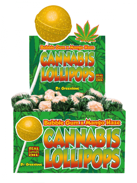 "DG Cannabis Lollipops ""Mango Haze"""