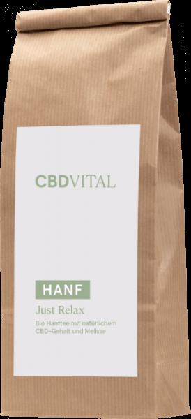 CBD Hanfblütentee Bio 1,9% - just relax