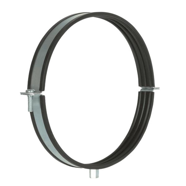 Rohrschelle mit Einlage 150 mm