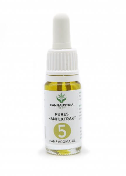 CannAustria pures Hanfextrakt 5 % ohne THC
