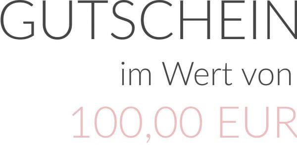 GUTSCHEIN im Wert von 100,00 EUR als PDF