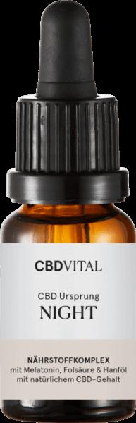 CBD-Vital CBD Ursprung NIGHT (15 ml)