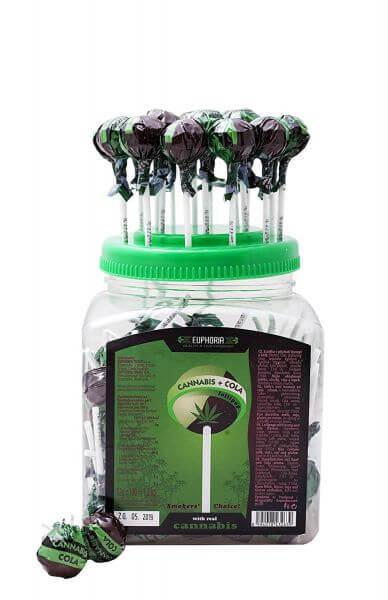 Cannabis Cola Lollipops 12g
