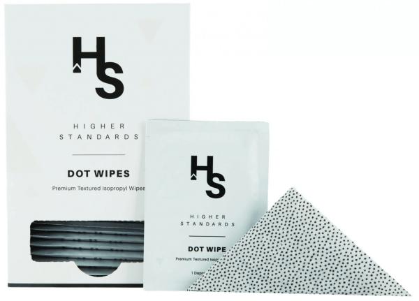 Higher Standards Dot Wipes / Reinigungstücher (30stk)