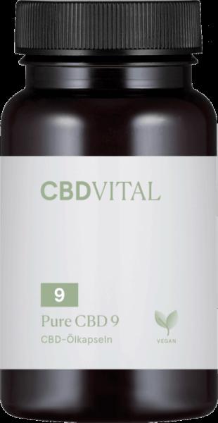 CBD-Vital PURE CBD-KAPSELN 5 % (60 Kapseln)