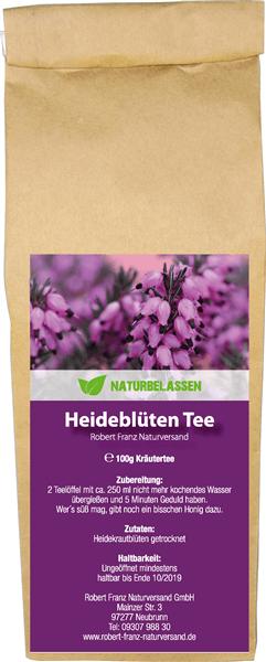 Heideblüten Tee (Robert Franz)