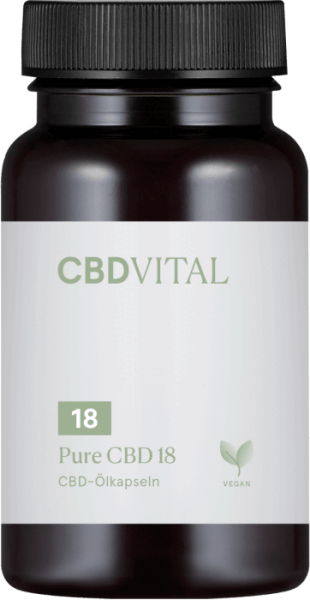 CBD-Vital PURE CBD-KAPSELN 10 % (60 Kapseln)
