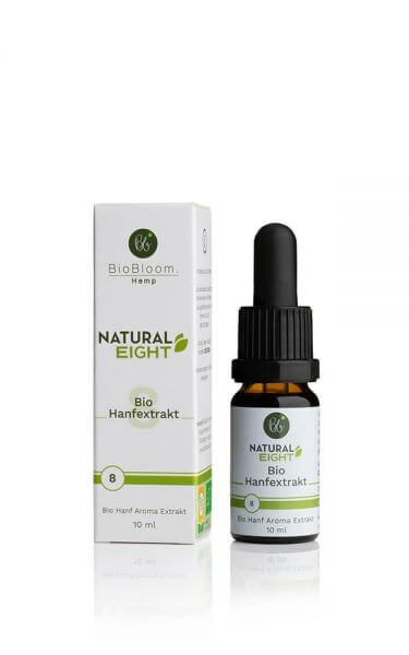 8 % Bio CBD Hanfextrakt NaturalEIGHT