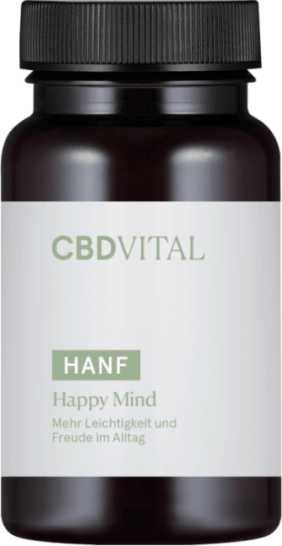 CBD-Vital Hanf Happy Mind (60 Kapseln)