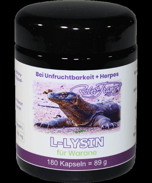 L-Lysin Kapseln - 400mg (Robert Franz)